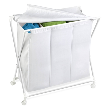 Triple Folding Hamper by Honey-Can-Do