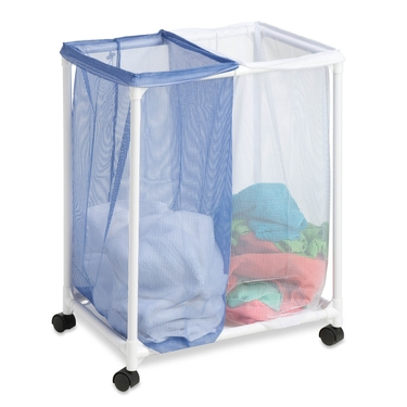 2 Bag Mesh Laundry Hamper by Honey-Can-Do