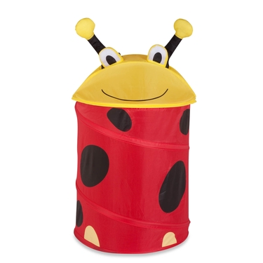 Kid's Medium Pop Up Lady Bug Laundry Hamper by Honey-Can-Do
