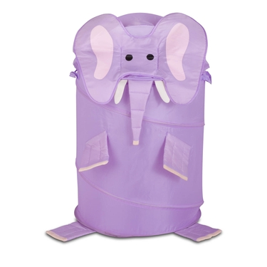 Kid's Large Pop Up Elephant Laundry Hamper by Honey-Can-Do
