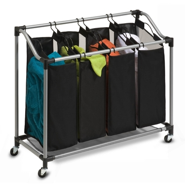 Deluxe Quad Sorter w/ Mesh Bags by Honey-Can-Do