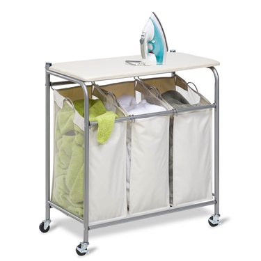 Ironing & Sorter Combo Laundry Center by Honey-Can-Do