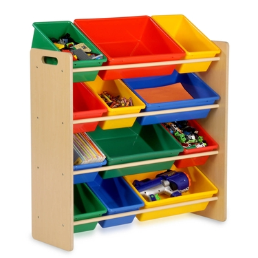 Kids Natural 12 Bin Storage Organizer by Honey-Can-Do