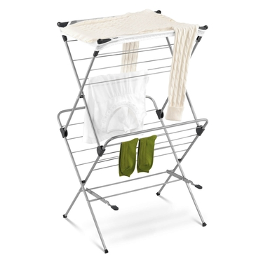 2-Tier Mesh Top Drying Rack by Honey-Can-Do