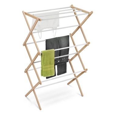 Wood Accordion Drying Rack by Honey-Can-Do