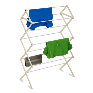Wood Knockdown Drying Rack by Honey-Can-Do