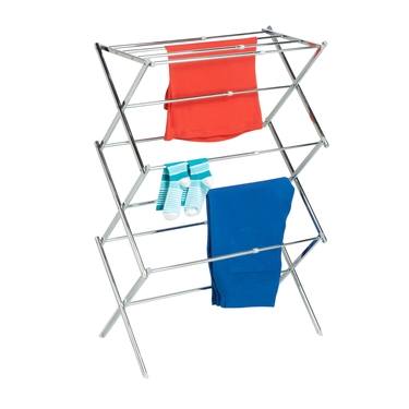 Chrome Expandable Drying Rack by Honey-Can-Do