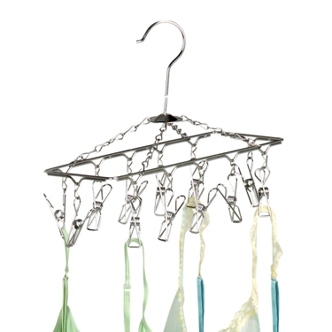 Hanging Chrome Drying Rack by Honey-Can-Do