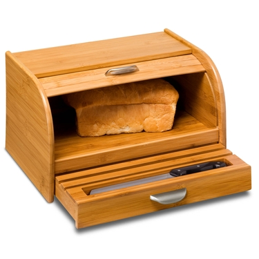 Bamboo Bread Box by Honey-Can-Do