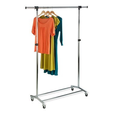 Commercial Chrome Garment Rack by Honey-Can-Do
