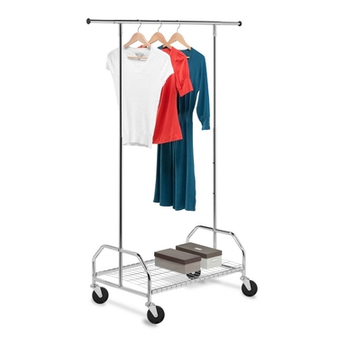 Bottom Shelf Garment Rack by Honey-Can-Do