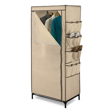27'' Storage Closet w/ Shoe Organizer by Honey-Can-Do