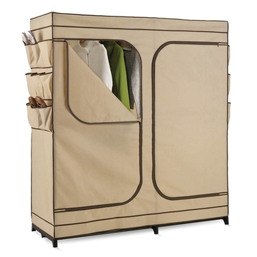 60'' Double Door Storage Closet w/ Shoe Organizer by Honey-Can-Do