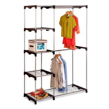 Double Rod Freestanding Closet by Honey-Can-Do