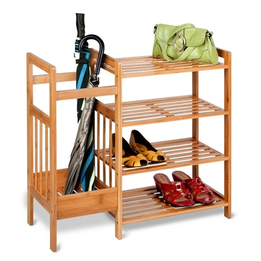Bamboo Entryway Organizer by Honey-Can-Do