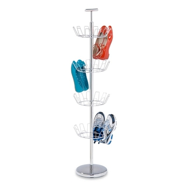 4 Tier Chrome Shoe Tree by Honey-Can-Do