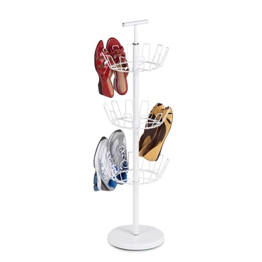 3 Tier White Shoe Tree by Honey-Can-Do