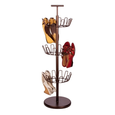 3 Tier Bronze Shoe Tree by Honey-Can-Do