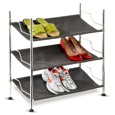 3 Tier Canvas Shoe Rack by Honey-Can-Do