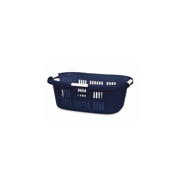 Blue Rubbermaid Hip Hugger Laundry Basket 1.5 bu-53L