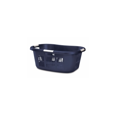 Blue Rubbermaid Large Hip Hugger Laundry Basket 2.1 bu-74L