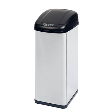 52L Square Sensor Trash Can by Honey-Can-Do