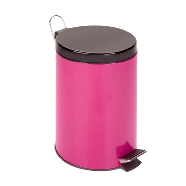12L Magental Step Trash Can by Honey-Can-Do