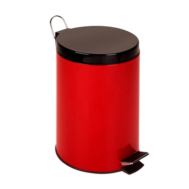 12L Red Step Trash Can by Honey-Can-Do