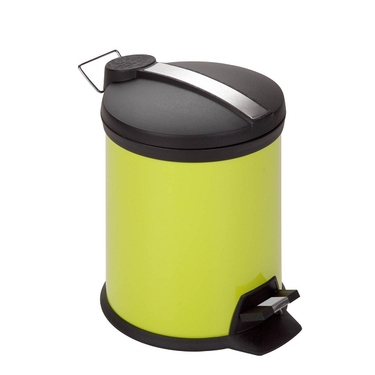 5L Lime Step Trash Can by Honey-Can-Do