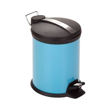 3L Blue Step Trash Can by Honey-Can-Do