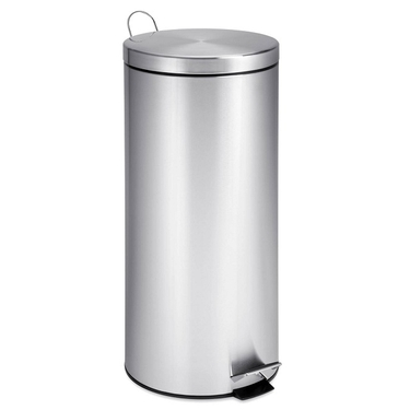 30L Round Stainless Steel Can w/ Bucket by Honey-Can-Do
