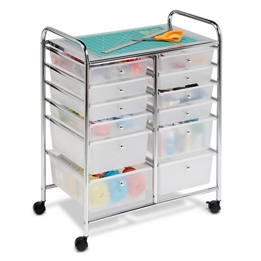 12 Drawer Rolling Cart by Honey-Can-Do