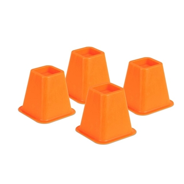 Orange Bed Risers- Set of 4 by Honey-Can-Do