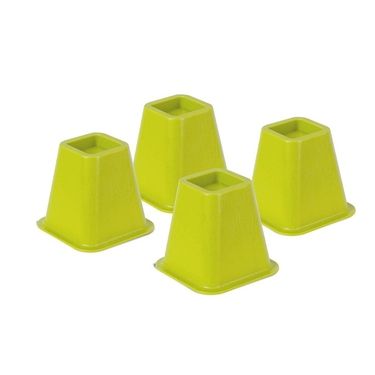 Green Bed Risers- Set of 4 by Honey-Can-Do