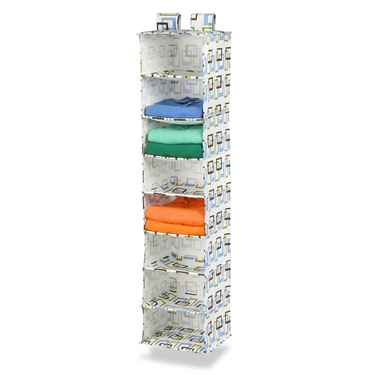 8 Shelf Brown/Green Hanging Organizer by Honey-Can-Do