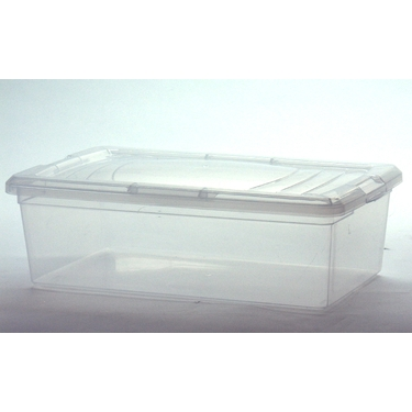 6 Quart Plastic Shoe Box by Iris