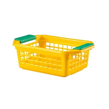 Small Yellow Flip-N-Stack Baskets by Dial