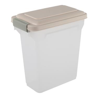 Premium Airtight 15 Qt Pet Food Container by Iris