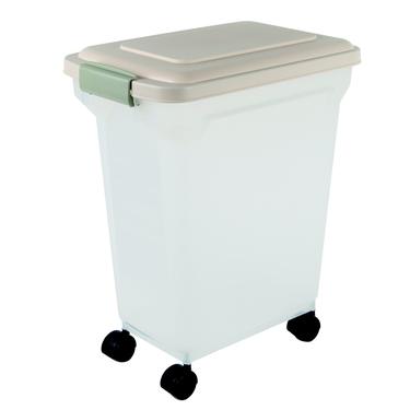 Premium Airtight 28 Qt Pet Food Container by Iris
