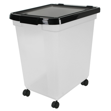 Nesting Airtight 50 Lb Pet Food Container by Iris