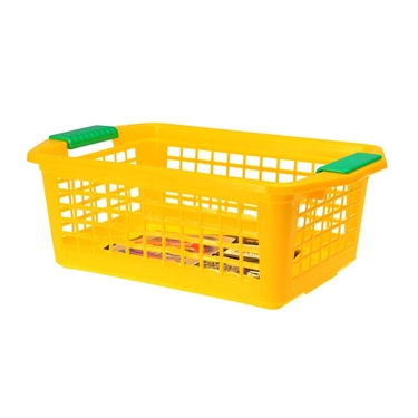 Medium Yellow Flip-N-Stack Baskets by Dial
