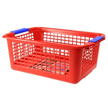 Large Red Flip-N-Stack Baskets by Dial