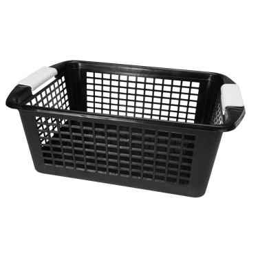 Large Black Flip-N-Stack Baskets by Dial