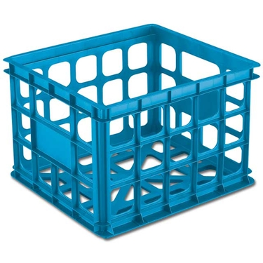 Stackable Storage Crate by Sterilite, Blue