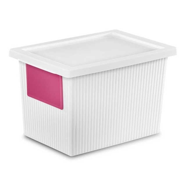 Sterilite Storage Box with Lid, 5.4 Quart