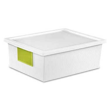 Sterilite Storage Box with Lid, 10.2 Quart