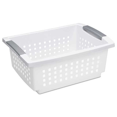 Sterilite Stacking Basket, Medium
