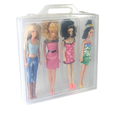 Doll Carrying Case, Clear