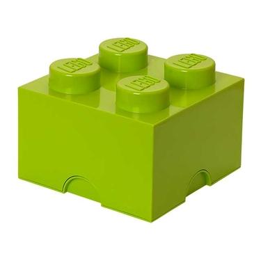 LEGO Brick Storage 4 - Lime Green