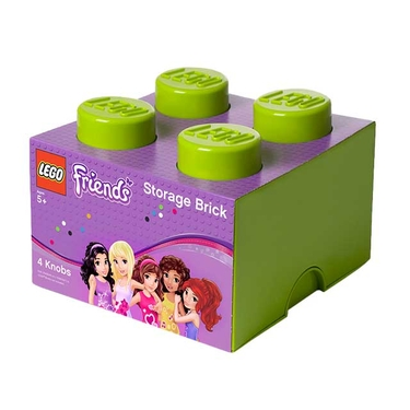 LEGO Friends Brick Storage 4 - Lime Green